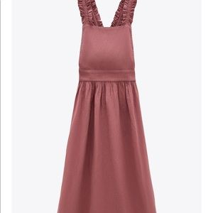 Zara Strap Pinafore Dress